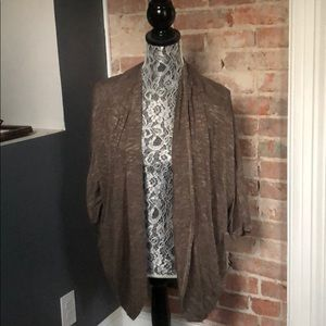 Willow and Clay cardigan